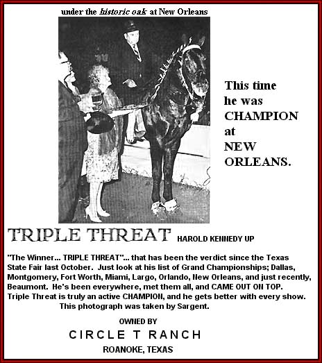Triple Threat Winning in New Orleans