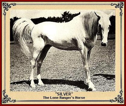 The Lone Ranger's horse, Silver