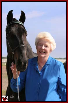 Mary Ellen and Warrior at 28 years old.